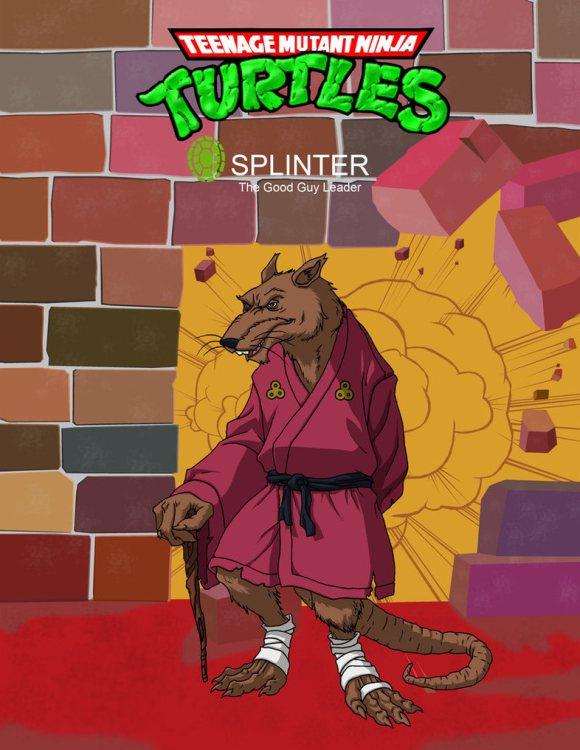 有人在紐約市的兩個垃圾桶中間拍到了《忍者龜》裡的老鼠忍者大師!
