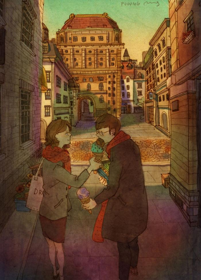 25張簡單插畫告訴你「愛是什麼?」 看完後才真正了解愛有多甜蜜!