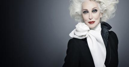 這位83歲的老奶奶模特兒真的太正了!老天真的太不公平了~