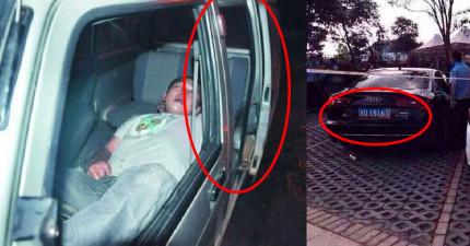 路過的人都以為這名男子只是在車裡睡著了,但這其實是個有天會救你親朋好友的可怕故事。