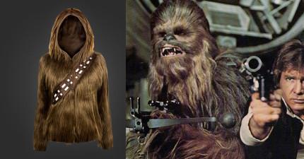 當這個女生穿上這件《星際大戰》的丘巴卡外套後,OMG沒想到會這麼好看!