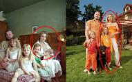 她與數十名陌生男子在照片中結婚並生下孩子,為的就是要體驗人生百態...