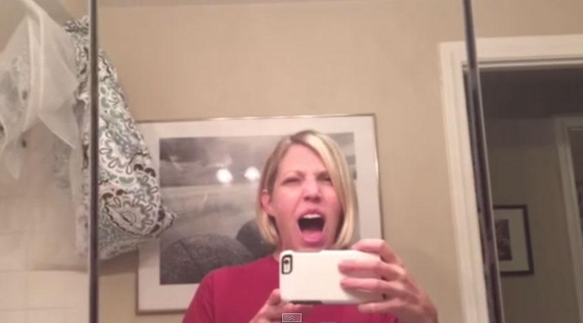 媽媽學孩子吵鬧對嘴2