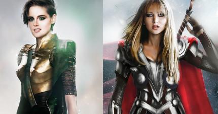 若將《復仇者聯盟》角色的性別全部對調,精采度完全要打趴原版了!