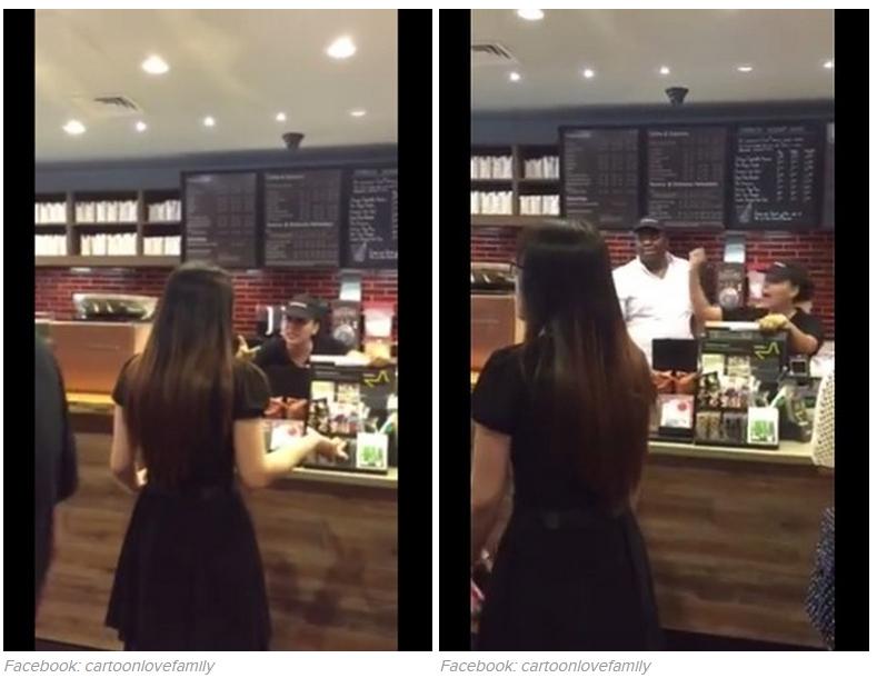 女生在星巴克店內用APP點餐,結果代班經理卻開始怒罵並威脅要報警?!