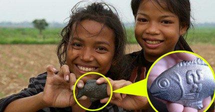 這隻「魚」就是拯救柬埔寨萬千病患的救世發明,它的使用方法真的太天才了!