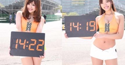 有了這個日本最新的線上美女時鐘,其他徹底輸慘的時鐘通通可以丟了!