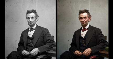 19張經典的歷史照片添上顏色後彷彿就像昨天才剛發生的事情。
