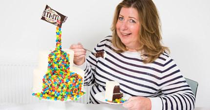 漂浮可樂不稀奇了,這系列「飄浮蛋糕」會讓你對蛋糕重新肅然起敬。