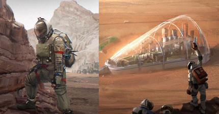 我們很快就可以住在火星上了,這就是人類殖民火星後的未來樣貌。