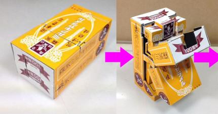 這個牛奶糖盒子看似普通,但當它打開超精美變身後...你會崇拜到淚流滿面。
