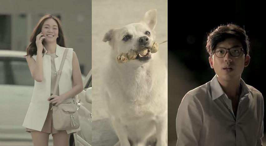 這個男生給了狗狗一串丸子,結果他的一整天就變得莫名的完美,最後還追到了夢中情人!