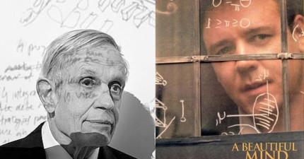 《美麗境界》主人翁數學家約翰·納許與妻子車禍身亡,留給世人最美的生命故事。