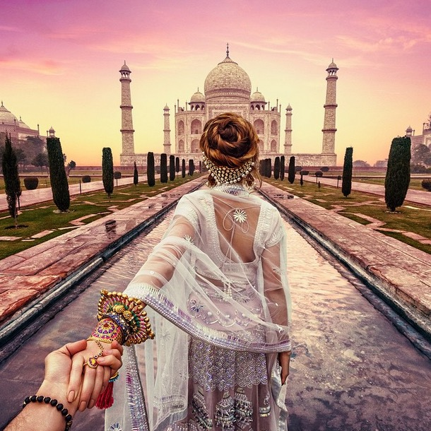 大家最羨慕的「拉男友環遊世界情侶」這次到印度,然後拍下這些美到會讓你說不出話的照片!