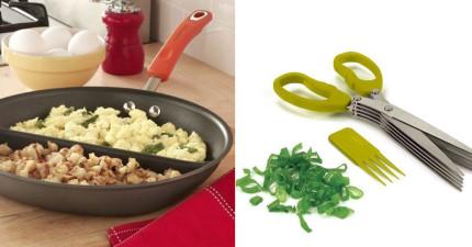 24個解決一切麻煩的創意廚具,會把你花在廚房的時間減半!