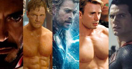 7個問題看出你到底喜歡哪種超級英雄,也同時透露出你對男人的品味!