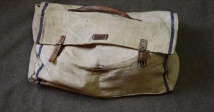 這位網友有一天收到了二戰退伍老兵的遺物,神秘袋子中的寶物竟拼湊出他驚奇的回憶!