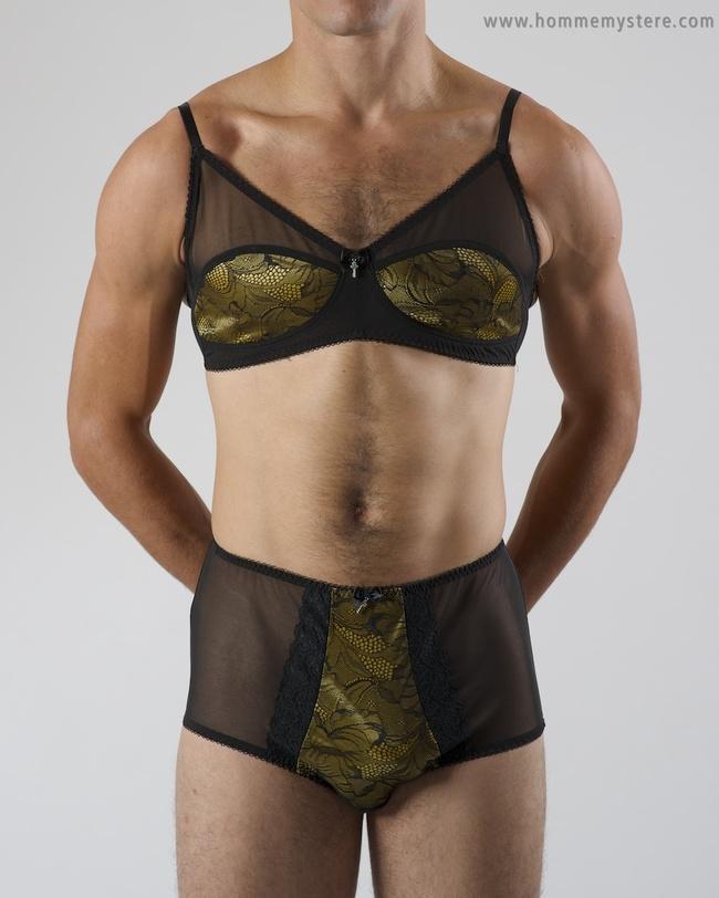 這家內衣公司開始販售的「男性性感內衣」會讓你發現到男生穿性感內衣也很適合喔!
