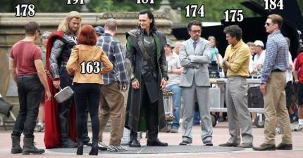 《復仇者聯盟》系列電影裡最大的祕密,就是他們如何讓只有174cm的鋼鐵人看起來很高。