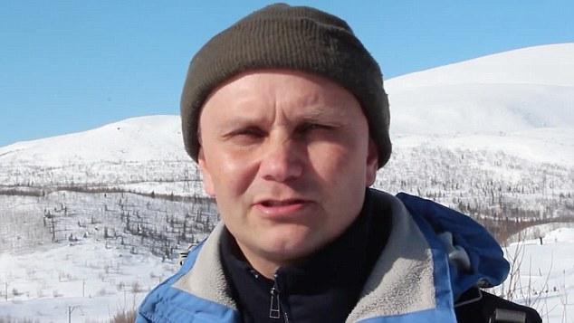 這名俄羅斯男登山時被冰柱擊中,現場替自己開刀的恐怖畫面全都錄!