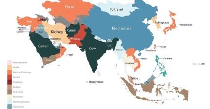 Google統計了世界各地人們最常搜尋的商品...台灣人喜歡搜尋的東西也太奇怪了吧?!