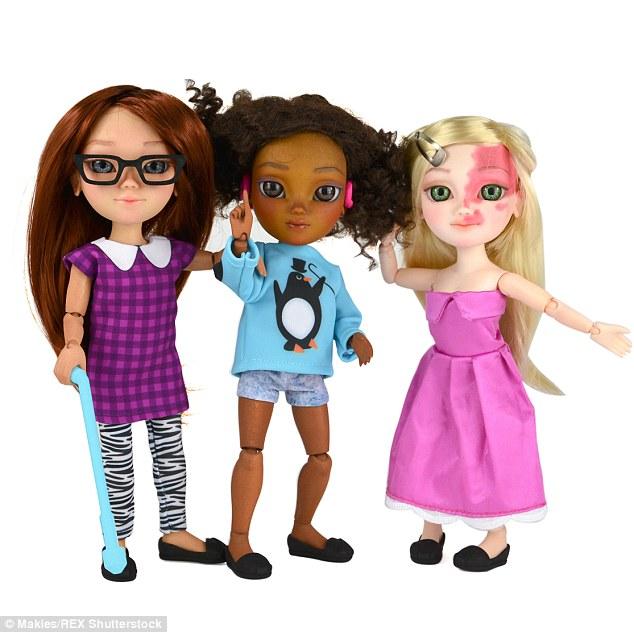 因為認為這世界上本來就沒有「完美」,這家公司做出這些能教導我們更愛自己的缺陷芭比娃娃!