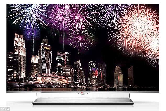 在不久的未來,你看完電視就可以把1mm厚的它捲起來帶走了。
