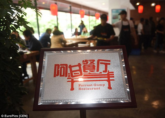 The restaurantopened its doors on Tuesday in Changchun in north east China