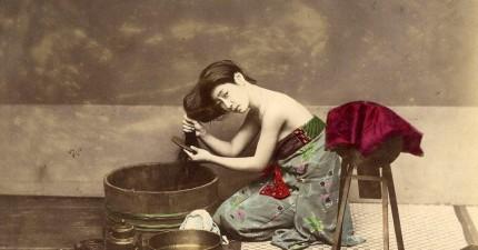攝影記者於日本江戶時代拍下的照片,帶著大家一窺1863年藝妓與武士的生活!