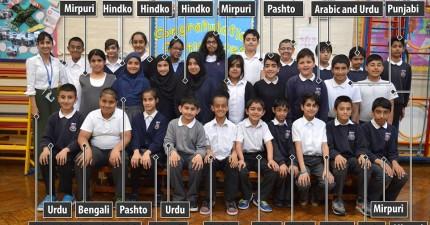 教育改革這樣改才有用!這間超創新小學94%的學生都至少會兩種語言,而且校內還使用23種語言!