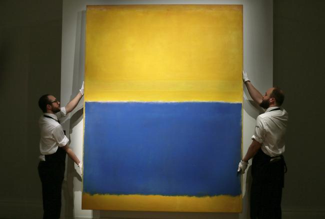 這張只有黃和藍的名畫居然要14.2億!你還知道14.2億可以買到什麼嗎?