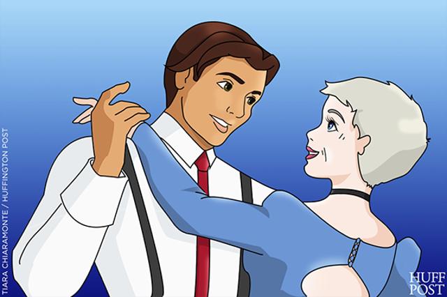 如果過了40年迪士尼公主都老了滿臉皺紋後,你還會愛她們嗎?