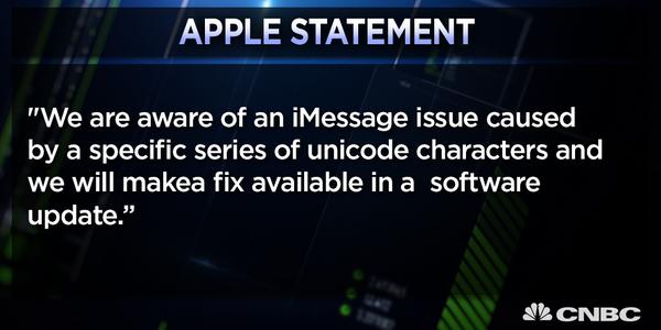 就是這封簡訊,現在正讓全球所有iPhone抵擋不了立刻當機關閉!