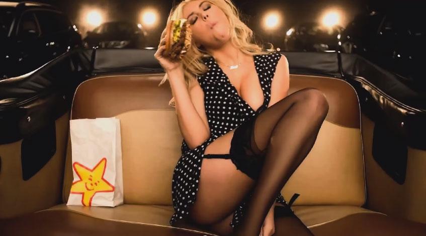 這個超級名模「凱特阿普頓」的超火辣速食店廣告會讓你希望你就是她吃的那個漢堡!