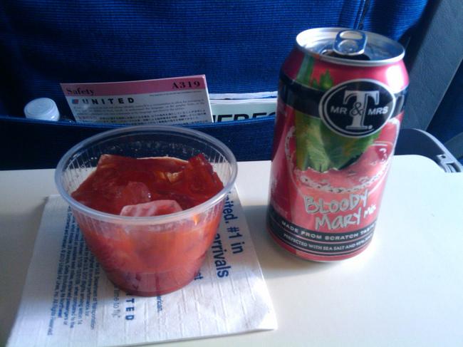 有沒有懷疑過飛機上的番茄汁為什麼比較好喝?