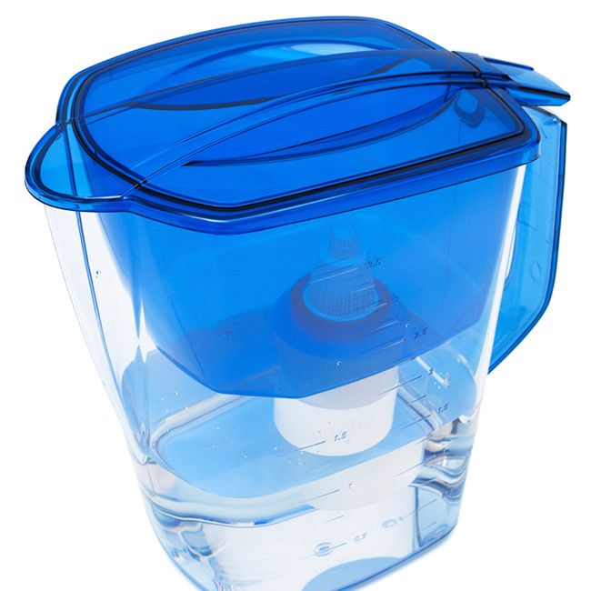 Instead of using tap water in your makeup remover, use filtered water.