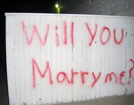 18個超前衛的詭異求婚方式,如果你想單身一輩子的話就照這些方法做吧!