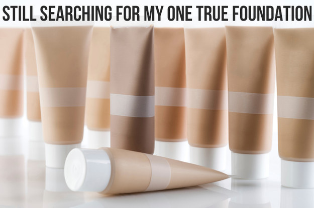 Finding the perfect foundation is harder than it looks.