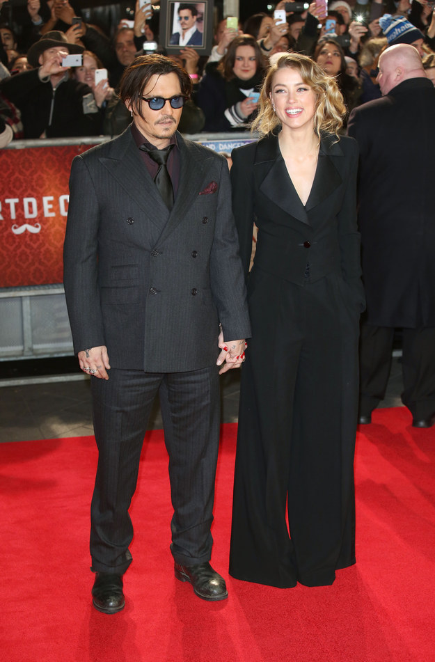 So you probably know that Johnny Depp and Amber Heard are ~married~.