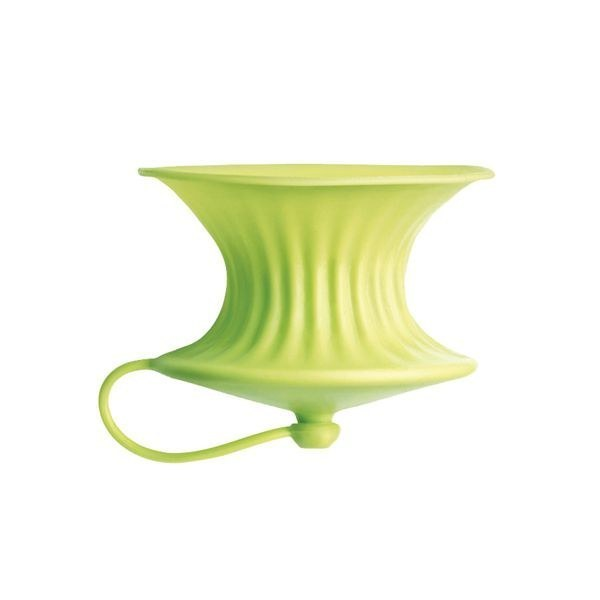 This lemon juicer that gets all of the juice and none of the seeds and nothing on your fingers.