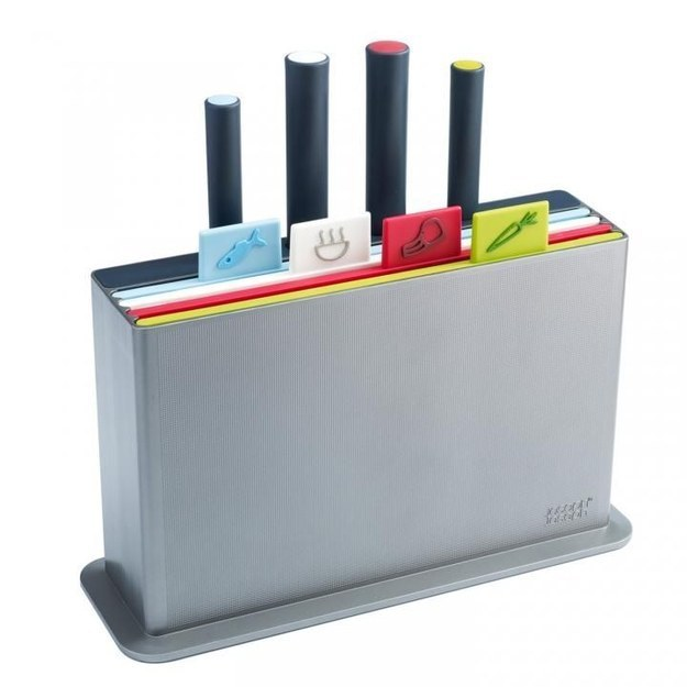A filing system for your cutting boards and knives.