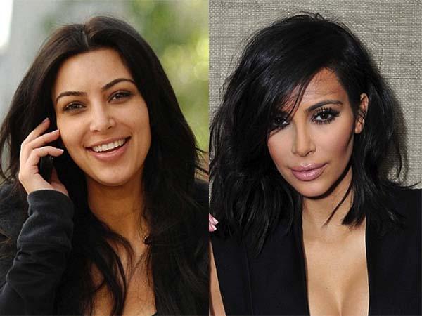 14個女星卸妝前後對照圖。#2是哪位?