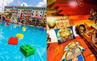 美國最新「樂高渡假村」開幕,只要走進其中一個房間後你可能就再也不想回家了!