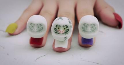當這個女生手上的3D列印指甲開始跳舞時,你就會驚奇到一直拐你旁邊的人!