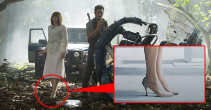 先別管《侏羅紀世界》的恐龍了!重點是女主角那雙可以跑贏暴龍的「超強高跟鞋」的秘密!