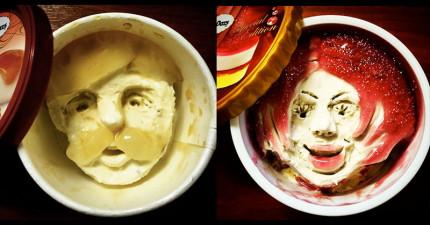 17張藝術家吃過的冰淇淋,證明冰淇淋也有生命和性格!