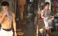 網友拍到這間傳統豆花店的「奇特景象」後,回過神時每個女孩手上都已經提了一袋豆花。