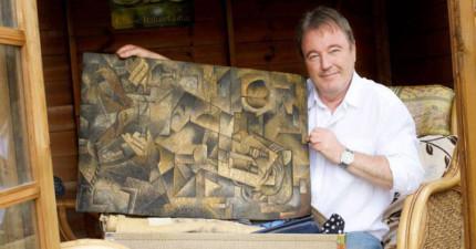 這名男子竟在家中閣樓找到價值「56億的畢卡索名畫」。