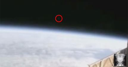 NASA太空站直播意外拍下3個UFO飛離地球後立刻停播,但影片已經被40萬人看過了!