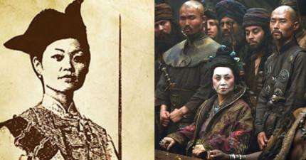 歷史上最威猛的海盜並不是西方的男霸主,而是個原為青樓女子的廣州寡婦!